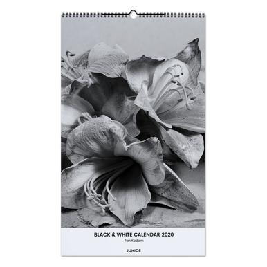 Black & White Calendar 2020 - Tan Kadam wandkalender