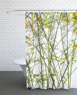 Flora - Ranunkelstrauch -Duschvorhang