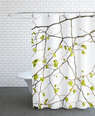 Flora - Buche -Duschvorhang