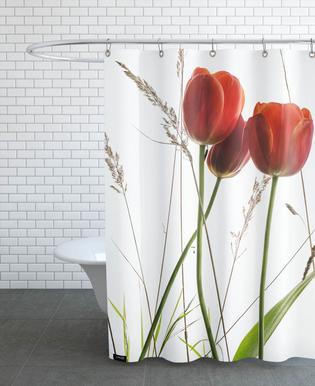Flora - Tulpe -Duschvorhang