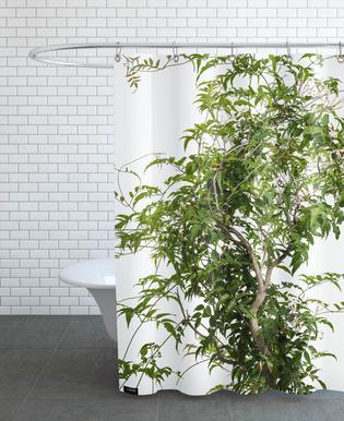 Flora - Jasmin -Duschvorhang