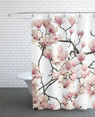 Flora - Magnolie -Duschvorhang