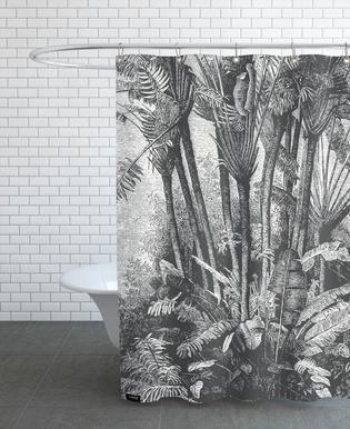 Palms in Water -Duschvorhang