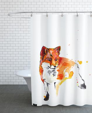 Luzius Famal Shower Curtain