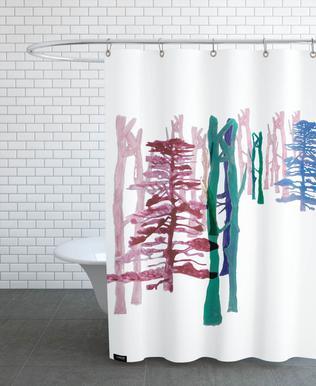 Hamburg Vintage Shower Curtain