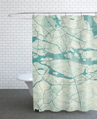 Stockholm Vintage -Duschvorhang