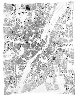 Munich Map Schwarzplan