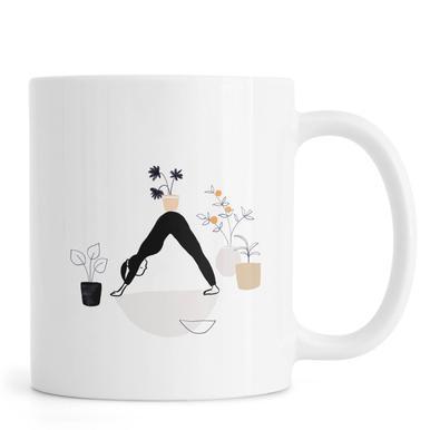 Yoga With Plants 01 Mug