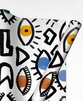 Geometric Eyes papier cadeau