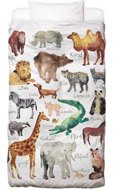 The Animal Kingdom -Kinderbettwäsche