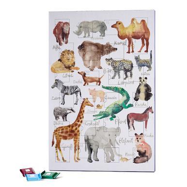 The Animal Kingdom 2018 Chocolate Advent Calendar - Ritter Sport