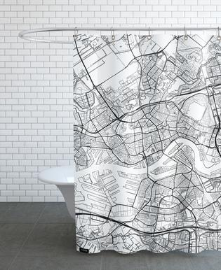 Rotterdam Minimal rideau de douche