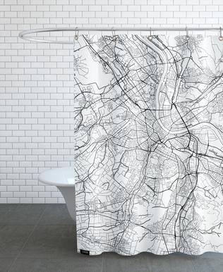 Basel Minimal rideau de douche
