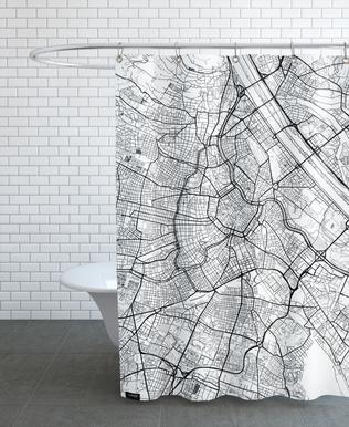 Vienna Minimal rideau de douche