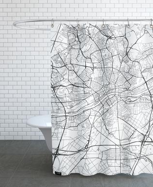Frankfurt Minimal rideau de douche