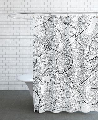 Brussels Minimal rideau de douche