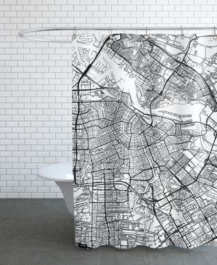 Amsterdam Minimal rideau de douche