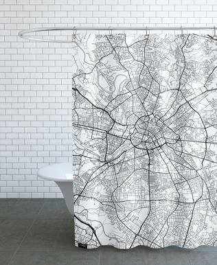 Manchester Minimal rideau de douche