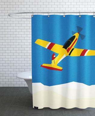 Pilatus PC-7 Solo Display Shower Curtain