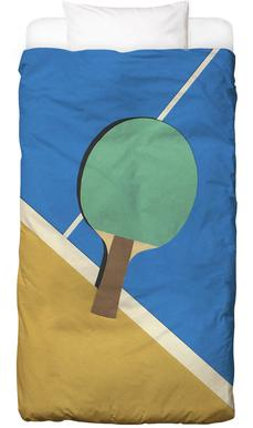 Table Tennis Team Green Bed Linen