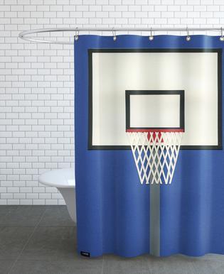 Oakland Basketball Team III Shower Curtain