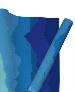 Blue Mountains papier cadeau