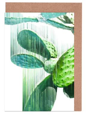 The Speed Of Cactus Greeting Card Set