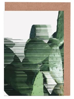 Sorted Cactus -Grußkarten-Set
