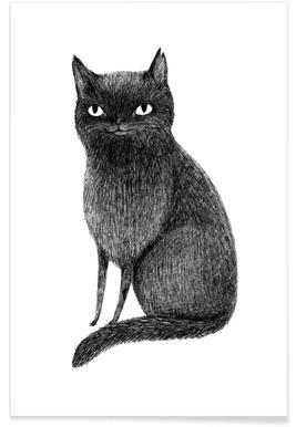 Black Cat - Premium poster