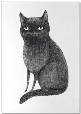 Black Cat bloc-notes