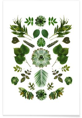 Green Collage - Premium poster