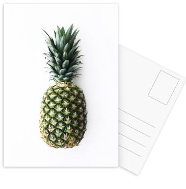 Pineapple -Postkartenset