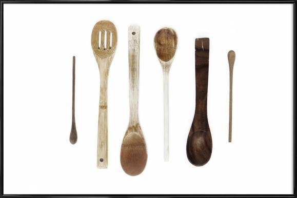 Spoon Collection N1 -Bild mit Kunststoffrahmen