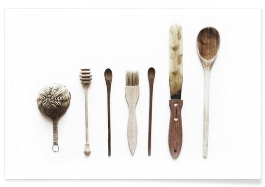 Spoon Collection N2 -Poster