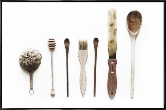 Spoon Collection N2 -Bild mit Kunststoffrahmen