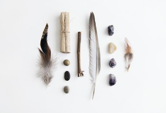 Tribe -Acrylglasbild