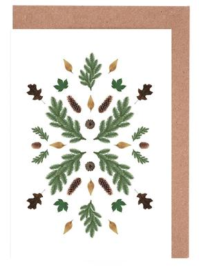 Winterland 01 Gratulationskort i satt