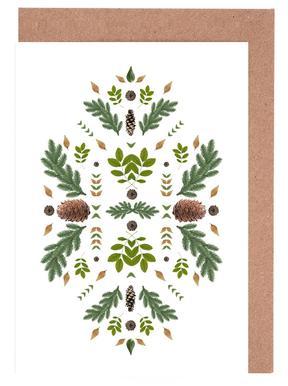 Winterland 04 Gratulationskort i satt