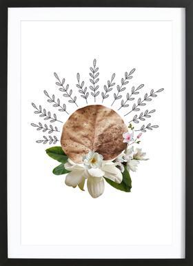 Dried Leaf 03 Collage