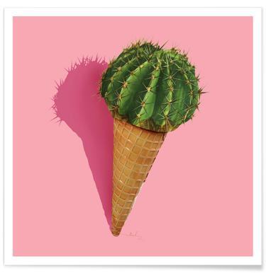 Caramba Cacti - Premium poster
