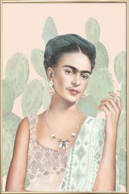 Couture Mexicaine -Poster im Alurahmen