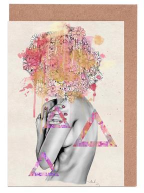 Delicate Flower -Grußkarten-Set