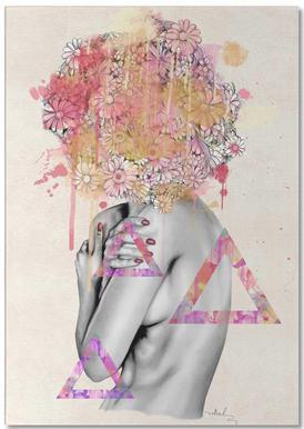 Delicate Flower -Notizblock