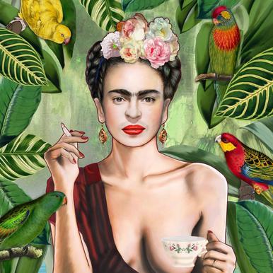 Frida Con Amigos -Alubild