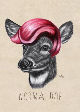 Norma Doe -Leinwandbild