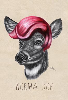 Norma Doe -Alubild