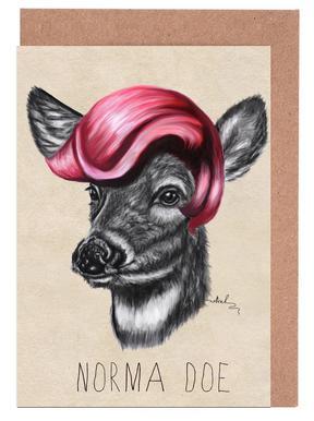 Norma Doe -Grußkarten-Set