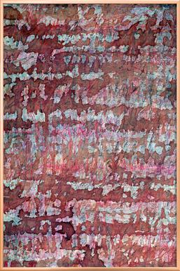 Rhytm 03 -Poster im Alurahmen