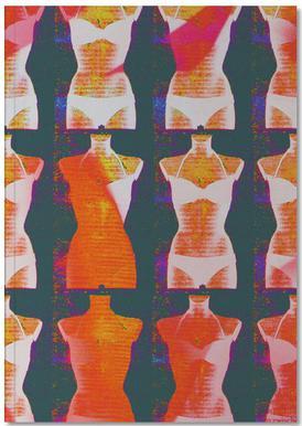 Dress-Stand 01 -Notizheft