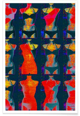 Dress-Stand 02 -Poster